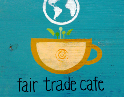 Fair Trade Cafe logo design