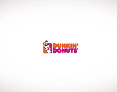Dunkin Donuts Logo Animation