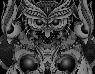 Dark Owl Illustrations
