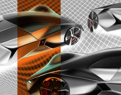 Short term project: Lamborghini concept design