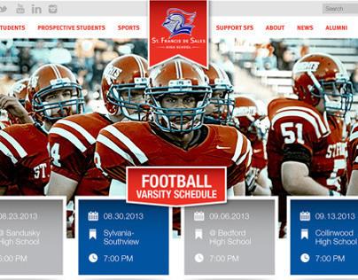 St. Francis De Sales High School Website