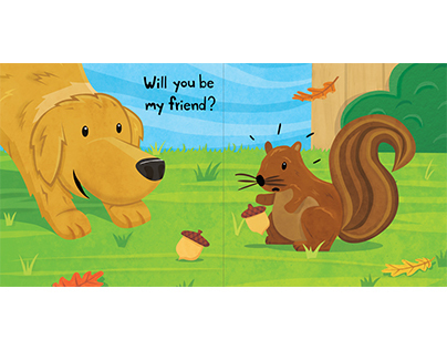 Will You Be My Friend? Childrens Book Dummy