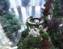 Game Environment Art (Elder Scrolls - Oblivion) (Old!)