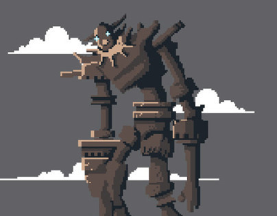 Pixels of the Colossus