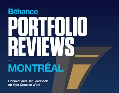 Portfolio Reviews #5 MONTREAL