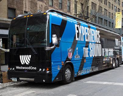 Westwood One Fan Machine Bus