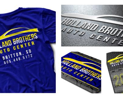 Holland Brothers Auto Center Branding