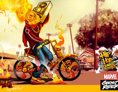 Hiphopheroes comic fan art by awonda!