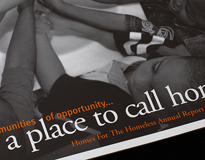 Homes For The Homeless Annual Report