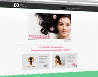 Omega© Personal Care Website Design / Development