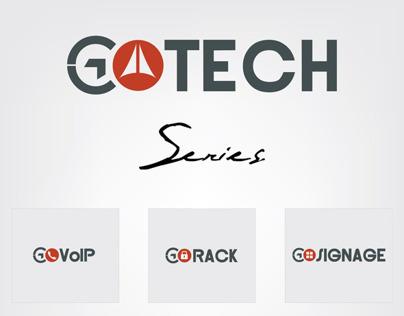 GOTech Series Logos, Corporate Identity & Websites