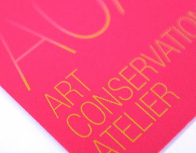 Branding / Art Conservation Atelier