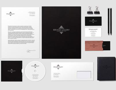 Bernar - Art Gallery // Branding