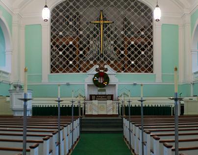 WVWC Chapel Panoramic