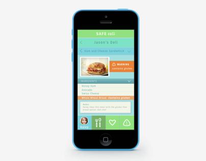 Safe eats mobile app
