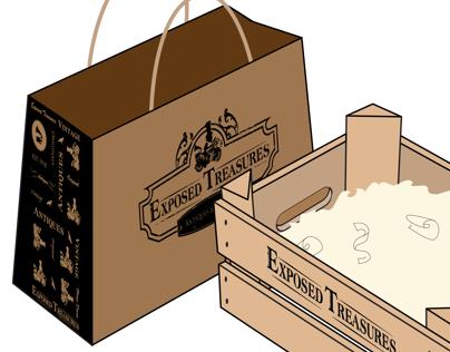 Exposed Treasures Branding