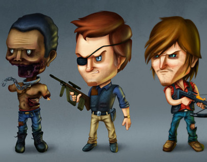 TWD Toon [Character design FAN ART]