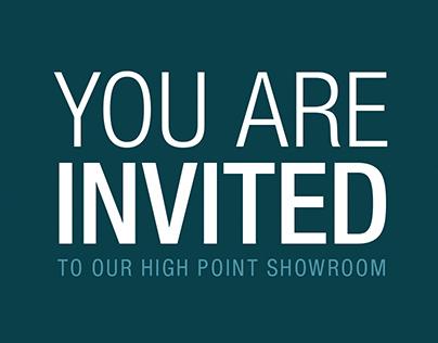 High Point Market Invite