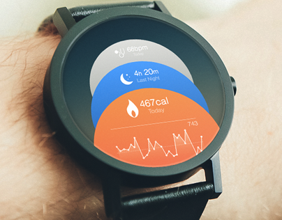 iWatch & Wearable iOS Concept