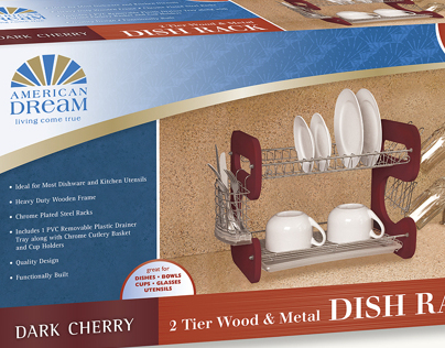 American Dream Kitchenware Identity and Packaging