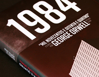 1984 Capa (by George Orwell)