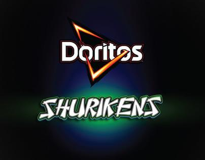 Doritos Shurikens