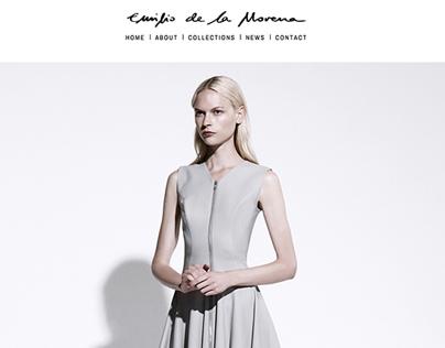 Emilio de la Morena - Website Design