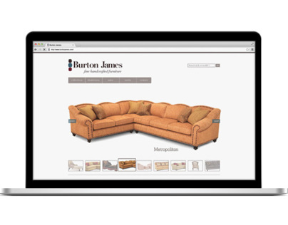 Burton James Website