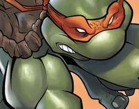 Digital Painting/Illustration - Creating Mikey TMNT