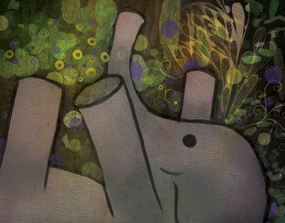 Unlikely Friendships Illustration Series