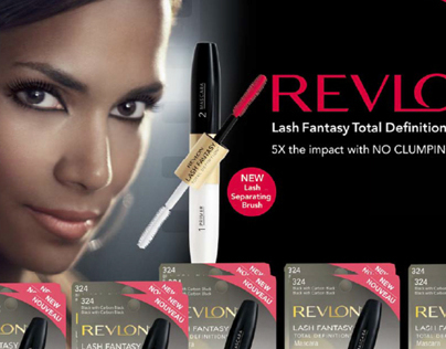 Revlon Lash Fantasy Counter Display