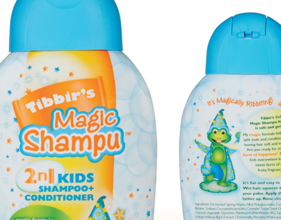 Tibbirs Magic Shampu Packaging