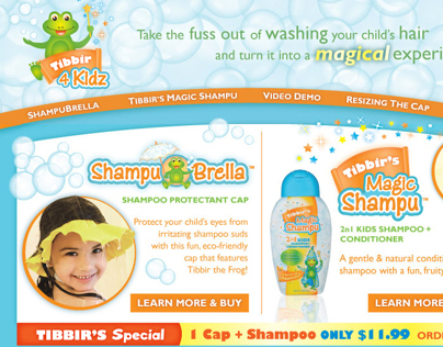 Tibbir 4 Kidz Website Design