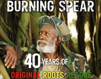 Burning Spear (40th Anniversary ad)