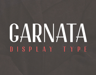 Garnata Display (free font)