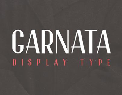 Garnata Display (free font)