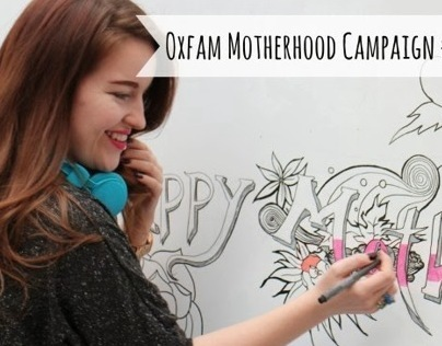 Oxfam - Happiest Mothers Day Card Campaign 2014
