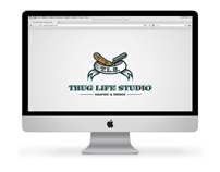 Thug Life Studio flash site.