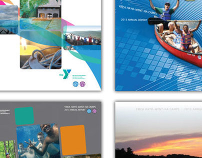 YMCA HayoWentHa Annual Report concepts