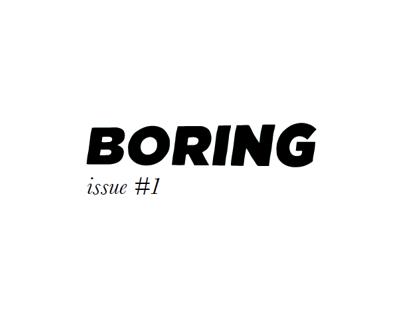 BORING Magazine