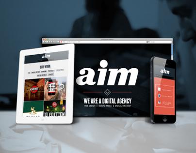 AIM Digital Agency - Web Design