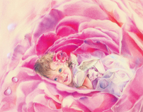 My Arts. Rose, Beige, Pastel...