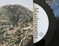 Mashrooms - s/t - Lp - Wild Love Records - April 2011