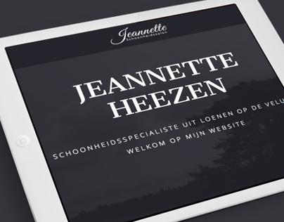 Beauty Salon Jeannette - Landing page