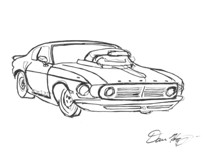 Car Drawing -Video