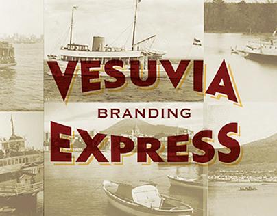 Vesuvia Express Brand identity