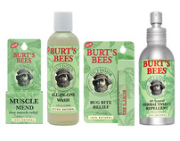Burts Bees Outdoor Personal Care Packaging Design