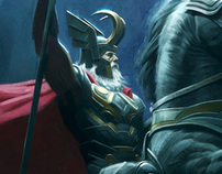 Thor - Character Design and Concept Art