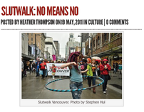 Newsdigger feature - 'Slutwalk: No means no'