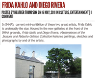 Newsdigger review - Frida Kahlo and Diego Rivera